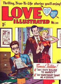 Cover Thumbnail for Love Illustrated (Magazine Management, 1952 series) #30