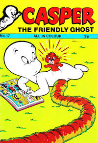 Cover Thumbnail for Casper the Friendly Ghost (Thorpe & Porter, 1973 series) #17