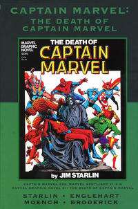 Cover Thumbnail for Marvel Premiere Classic (Marvel, 2006 series) #43 - Captain Marvel: The Death of Captain Marvel [Direct]