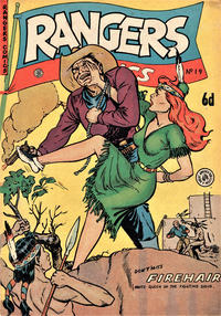 Cover Thumbnail for Rangers Comics (H. John Edwards, 1950 ? series) #19