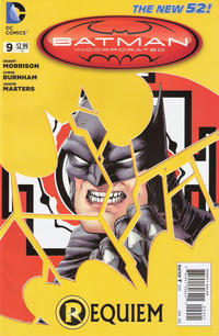Cover Thumbnail for Batman Incorporated (DC, 2012 series) #9 [Chris Burnham Variant Cover]