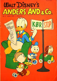 Cover Thumbnail for Anders And & Co. (Egmont, 1949 series) #4/1954