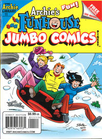 Cover Thumbnail for Archie's Funhouse Double Digest (Archie, 2014 series) #11
