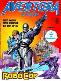 Cover Thumbnail for Aventura e Ficção (Editora Abril, 1986 series) #8