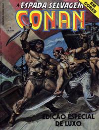 Cover Thumbnail for Espada Selvagem de Conan em Cores (Editora Abril, 1987 series) #1