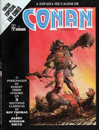 Cover Thumbnail for Espada Selvagem de Conan em Cores (Editora Abril, 1987 series) #3