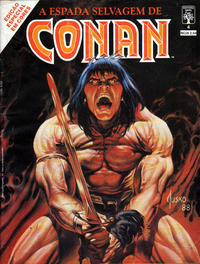 Cover Thumbnail for Espada Selvagem de Conan em Cores (Editora Abril, 1987 series) #4