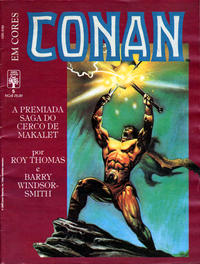 Cover Thumbnail for Espada Selvagem de Conan em Cores (Editora Abril, 1987 series) #5