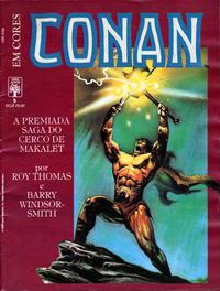 Cover for Espada Selvagem de Conan em Cores (Editora Abril, 1987 series) #5