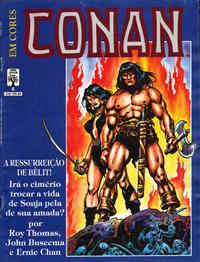 Cover Thumbnail for Espada Selvagem de Conan em Cores (Editora Abril, 1987 series) #6