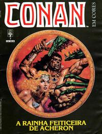 Cover Thumbnail for Espada Selvagem de Conan em Cores (Editora Abril, 1987 series) #7