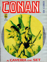 Cover Thumbnail for Espada Selvagem de Conan em Cores (Editora Abril, 1987 series) #8