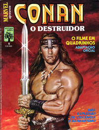 Cover Thumbnail for Conan, o Destruidor (Editora Abril, 1985 series) #1