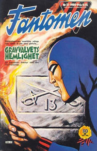 Cover Thumbnail for Fantomen (Semic, 1963 series) #21/1980
