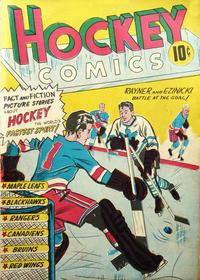 Cover Thumbnail for Hockey Comics (Export Publishing, 1949 series)