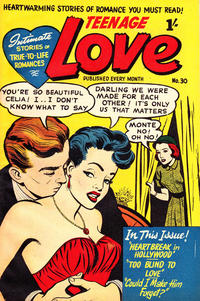 Cover Thumbnail for Teenage Love (Magazine Management, 1952 ? series) #30