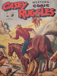 Cover Thumbnail for Casey Ruggles Western Comic (Donald F. Peters, 1951 series) #9