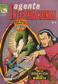 Cover Thumbnail for Agente Internacional (Editora de Periódicos La Prensa S.C.L., 1966 series) #18