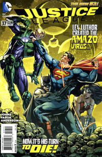 Cover Thumbnail for Justice League (DC, 2011 series) #37