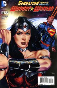 Cover Thumbnail for Sensation Comics Featuring Wonder Woman (DC, 2014 series) #5