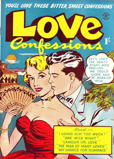 Cover for Romance Library (Magazine Management, 1951 ? series) #27