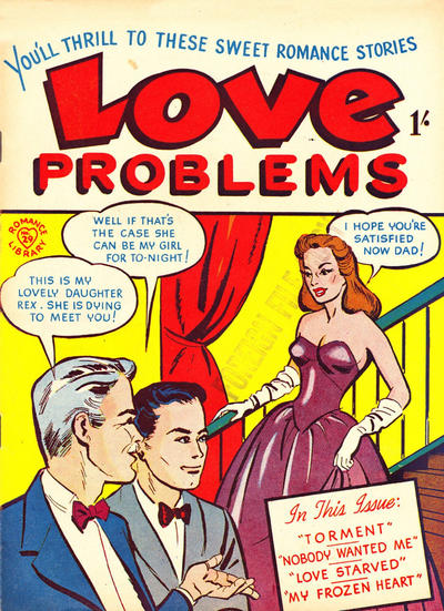 Cover for Romance Library (Magazine Management, 1951 ? series) #29