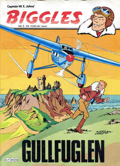 Cover for Biggles (Semic, 1978 series) #2 - Gullfuglen
