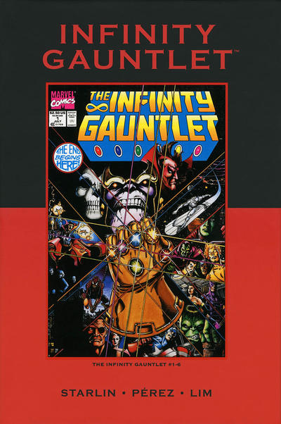 Cover for Marvel Premiere Classic (Marvel, 2006 series) #46 - Infinity Gauntlet [Direct]