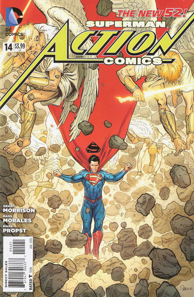 Cover for Action Comics (DC, 2011 series) #14 [Steve Skroce Variant Cover]