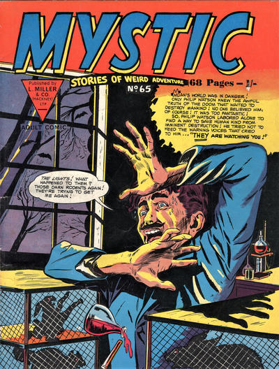 Cover for Mystic (L. Miller & Son, 1960 series) #65