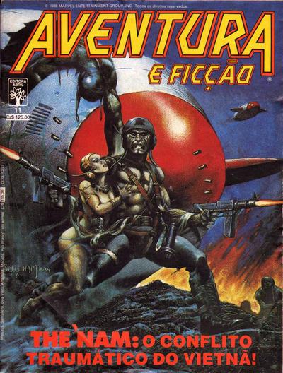 Cover for Aventura e Ficção (Editora Abril, 1986 series) #11