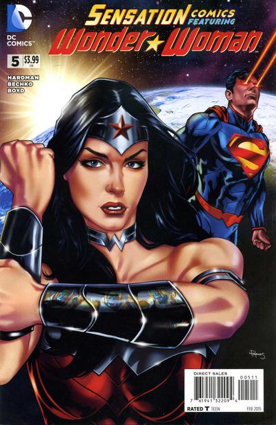 Cover for Sensation Comics Featuring Wonder Woman (DC, 2014 series) #5