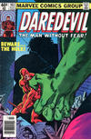 Cover for Daredevil (Marvel, 1964 series) #163 [Newsstand Edition]