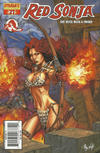 Cover Thumbnail for Red Sonja (2005 series) #21 [Adriano Batista Cover]