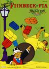 Cover for Fiinbeck og Fia (Hjemmet / Egmont, 1930 series) #1986