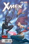 Cover for X-Men (Marvel, 2010 series) #34