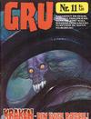 Cover for Gru (Interpresse, 1972 series) #11