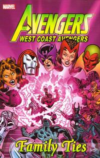 Cover Thumbnail for Avengers: West Coast Avengers - Family Ties (Marvel, 2012 series)