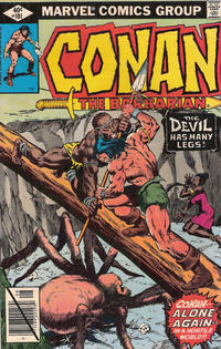 Cover Thumbnail for Conan the Barbarian (Marvel, 1970 series) #101 [Direct Edition]