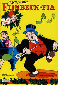 Cover Thumbnail for Fiinbeck og Fia (Hjemmet / Egmont, 1930 series) #1989