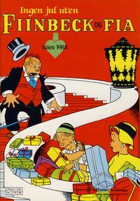 Cover Thumbnail for Fiinbeck og Fia (Hjemmet / Egmont, 1930 series) #1988