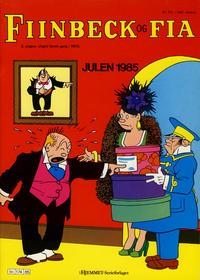 Cover Thumbnail for Fiinbeck og Fia (Hjemmet, 1930 series) #1985