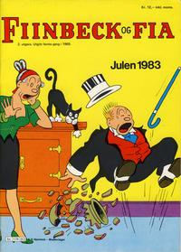 Cover Thumbnail for Fiinbeck og Fia (Hjemmet / Egmont, 1930 series) #1983