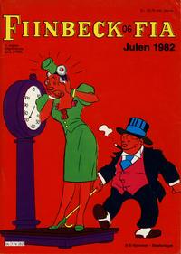 Cover Thumbnail for Fiinbeck og Fia (Hjemmet / Egmont, 1930 series) #1982