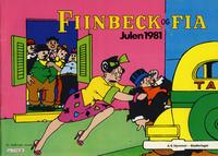 Cover Thumbnail for Fiinbeck og Fia (Hjemmet, 1930 series) #1981