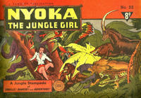Cover Thumbnail for Nyoka the Jungle Girl (Cleland, 1949 series) #22