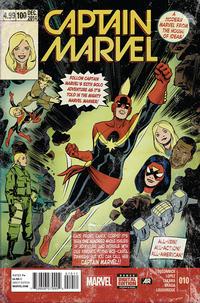 Cover Thumbnail for Captain Marvel (Marvel, 2014 series) #10