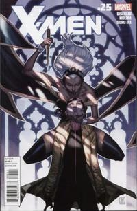 Cover Thumbnail for X-Men (Marvel, 2010 series) #25