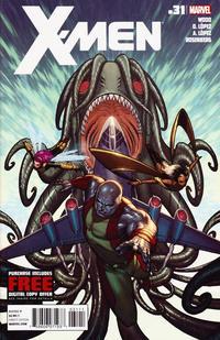 Cover Thumbnail for X-Men (Marvel, 2010 series) #31