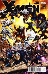 Cover Thumbnail for X-Men (Marvel, 2010 series) #29